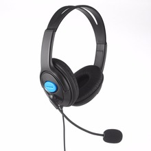 Headset Earphones Wired Gaming  Headphones with Microphone Mic Stereo Supper Bass for Sony PS4 for PlayStation 4 Gamers