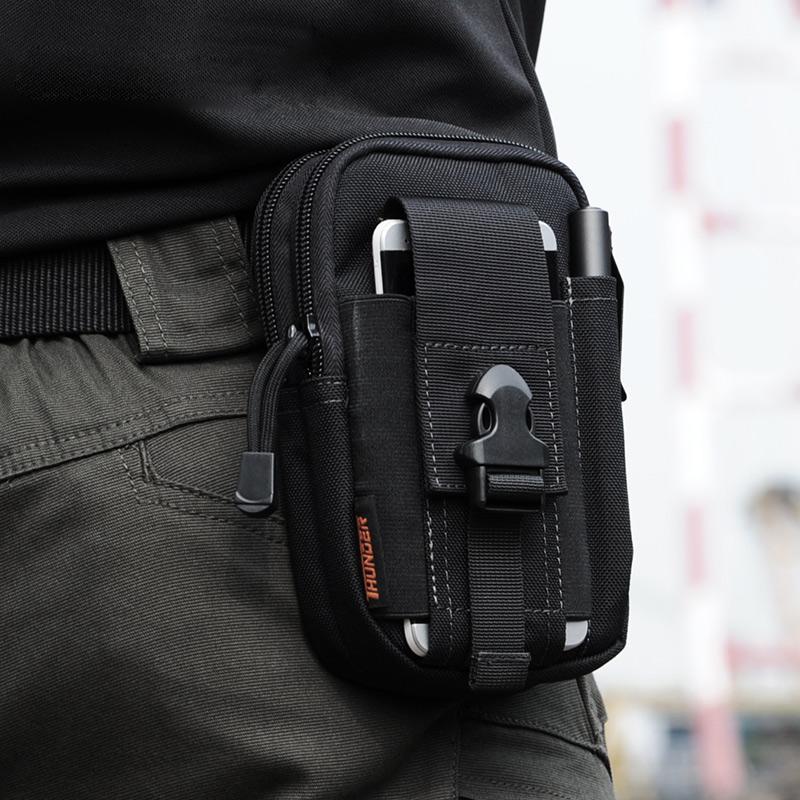 D30 Tactical Molle Cintura Bolsas de Deporte Al Aire Libre de Los Hombres Paquet