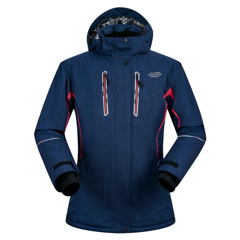 Brands Ski Jacket Women Winter Thicken Waterproof Windproof Super Warm Female Coat Outdoor Women Skiing And