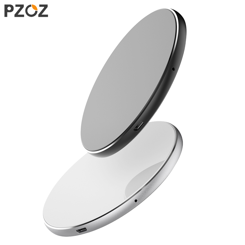 PZOZ 7,5 W QI adaptador de cargador inalámbrico teléfono usb almohadilla de carga rápida para iphone X 8 plus Samsung S9 S8 s7 Nota 8 Xiaomi Mi Mix 2S