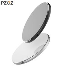 PZOZ 7.5 واط تشى اللاسلكية مهايئ شاحن الهاتف usb شحن سريع الوسادة آيفون X 8 زائد سامسونج S9 S8 S7 نوت 8 شاومي mi x 2s