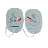 Wholesale 100 Pairs/pack Adult AED Training Machine Pads Use For HeartStart Trainer Simulated First Aid Training Sticky Patches