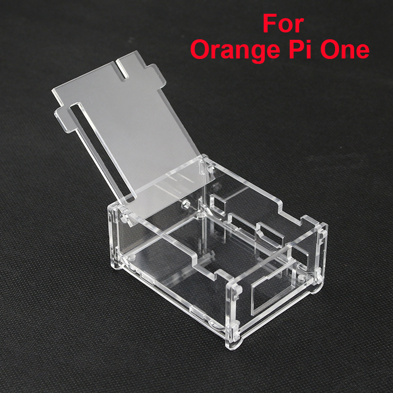 High Quality Transparent Acrylic Case Box For Orange Pi One Clear Enlosure Cover Shell Protective Boxes For Orange Pi One