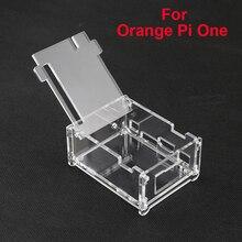 Высокое Качество Прозрачный Акриловый Дело Box Для Orange Pi Один Явный Enlosure Крышка Shell Защитный Коробки Для Orange Pi один