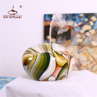 GX Diffuser 200ml Timer Colorful Ultrasonic Aroma Diffuser Aromatherapy Air Humidifier Essential Oil Diffuser Fogger