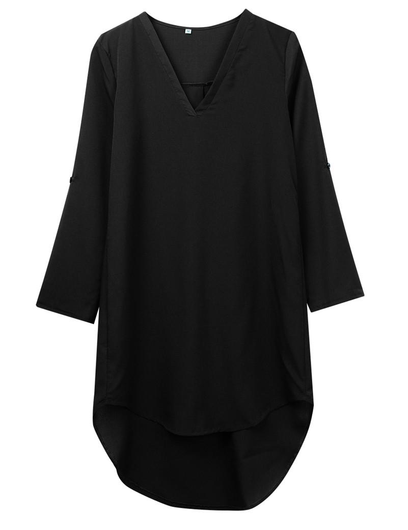 HTB1gn4FOVXXXXXlapXXq6xXFXXXN - Newest Women Long Sleeve Loose Waist Solid Shirt Dress-Newest Women Long Sleeve Loose Waist Solid Shirt Dress