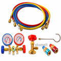 Hot Selling Auto AC Car Airconditioning R134A Refrigerant Pressure Gauge Leaking Tester Tools