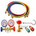 Venda quente Auto AC Ar Condicionado Do Carro Medidor de Pressão do Refrigerante R134A Vazamento Tester Tools