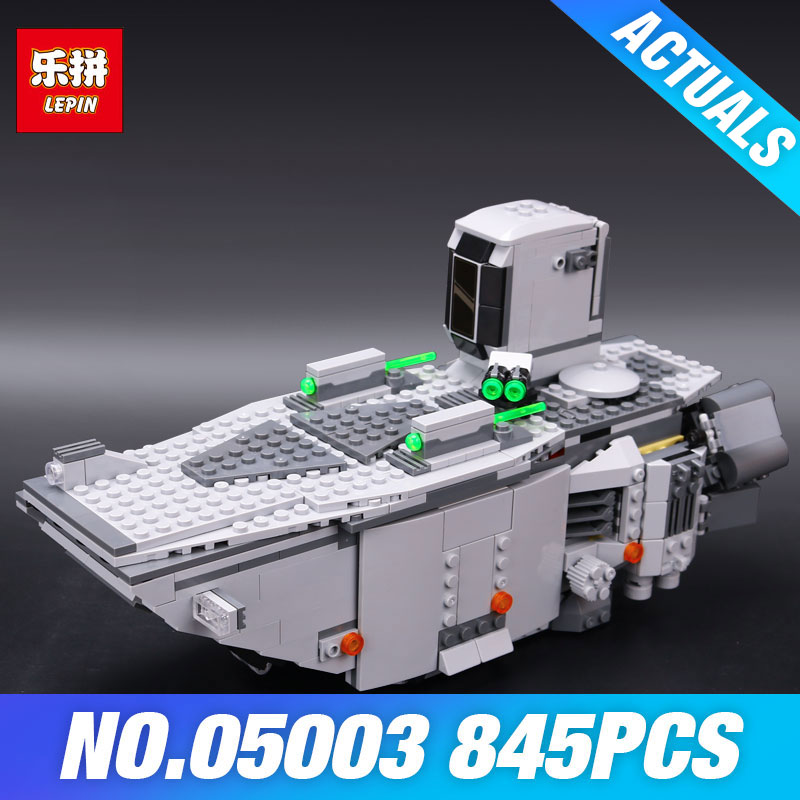 Lepin 05003 Star Plan Force Awakens First Order Transporter Wars Toys Building Blocks Marvel model Educational DIY Children Gift