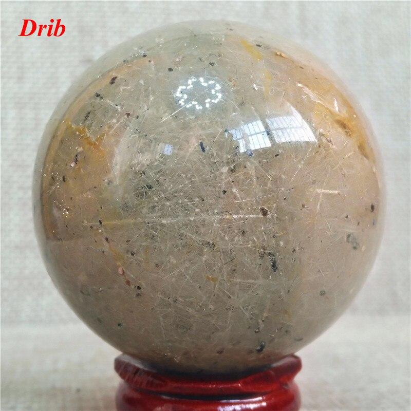 Boule de cristal de Quartz naturelBoule de cristal de Quartz naturel