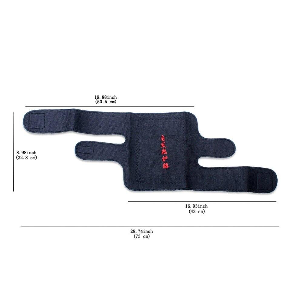 1 X Tourmaline Knäskydd Spontan Knäskydd Massager Magnetisk Terapi - Sjukvård - Foto 6