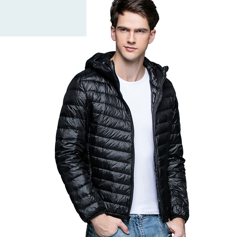 Fashion city vitality brand Winter men's down jacket Korean version of the self cultivation hooded men's winter jackets Coat