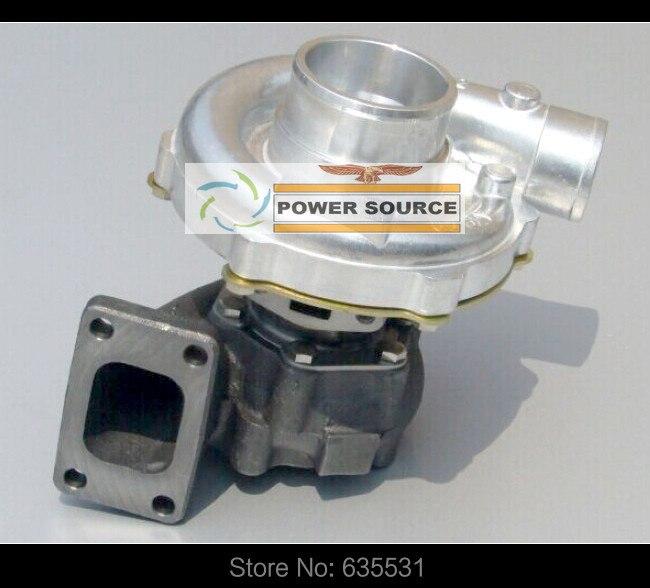 Free Ship T3T4 T3 T4 T3/T4 TO4E 5 bolt A/R .63 comp A/R .50 Oil cooled Turbo Turbine For Vehicle tuning Universal Cars 155-170kW free ship gt1752s 452204 452204 0004 9172123 55560913 turbo turbine for saab 9 3 9 5 2 0t 2 3t b235e b205e b205l 2 0lpt 2 3lpt