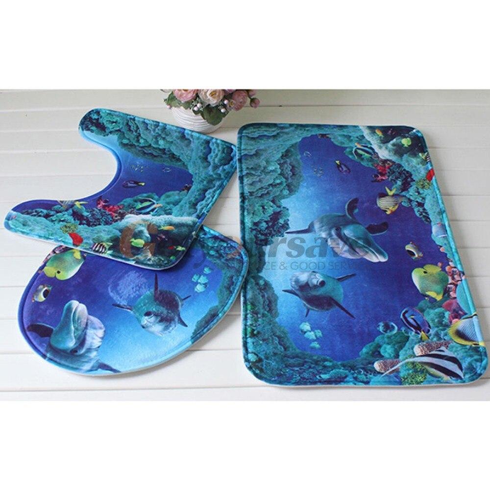 achetez en gros tapis salle de bain bleu en ligne à des grossistes ... - Tapis Salle De Bain Bleu