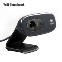 Logitech C270 HD Vid 720P Webcam with Micphone USB 2.0 Support Official Test for PC Lapto Video Calling With Retail Box