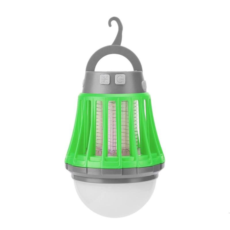 Solor Power Outdoor Mosquito Killer Lamp USB Charging Anti Mosquito Light Solar Camping Ligh Insect Mosquito Killer