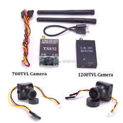 5.8G FPV Receiver UVC Video Downlink OTG VR Android Phone TS832 5.8G 48CH 600mW Wireless AV Transmitter 700TVL / 1200TV Camera