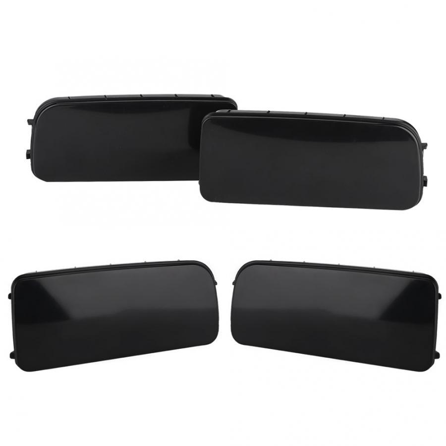 Черный ABS передний противотуманный светильник, накладка на раму, подходит для BMW E30 E36 E46 318 323 325, противотуманный светильник, рамка s, гриль