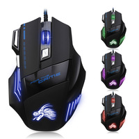 High Quality Professional Wired Gaming Mouse 7 Button 5500 DPI USB Gamer Computer Mouse Mice Ergonomic