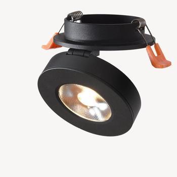 Moderne Led-lampe Embedded Decken Gang Veranda Einzigen decke licht Niuyan Lichter Hintergrund Wand Loch Stamm Lampe