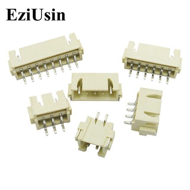 EziUsin XH2.54 AWD Pitch 2.54 SMT Connector Horizontal Patch SMD SMT Needle Socket 2P 3P 4P 5P 6P 8P 9P 10P Pin Header