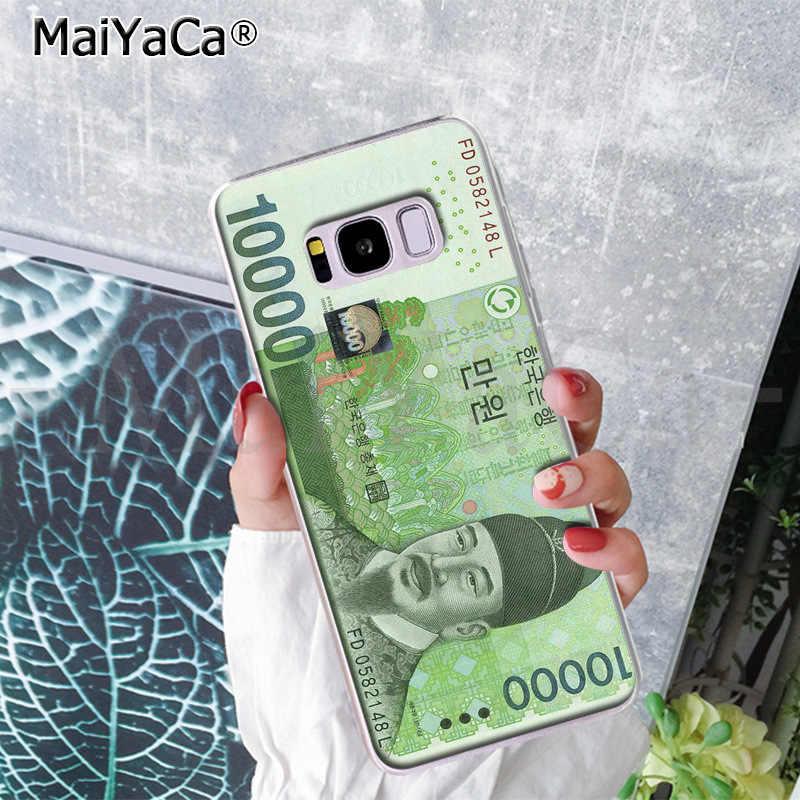 MaiYaCa Koreanische geld, währung Telefon Fall Ultra dünne Weiche TPU für Samsung S9 S9 plus S5 S6 S6edge S6plus S7 S7edge S8 S8plus