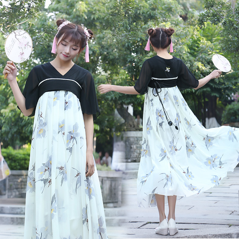 a9cd54be1 2019 Traditional Chinese Beautiful Dance Hanfu Dress Chinese Dynasty ...