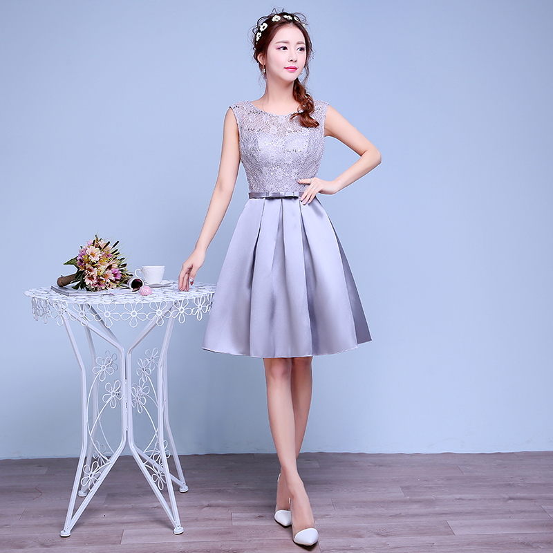 Online Get Cheap Short Cocktail Dress Grey -Aliexpress.com ...
