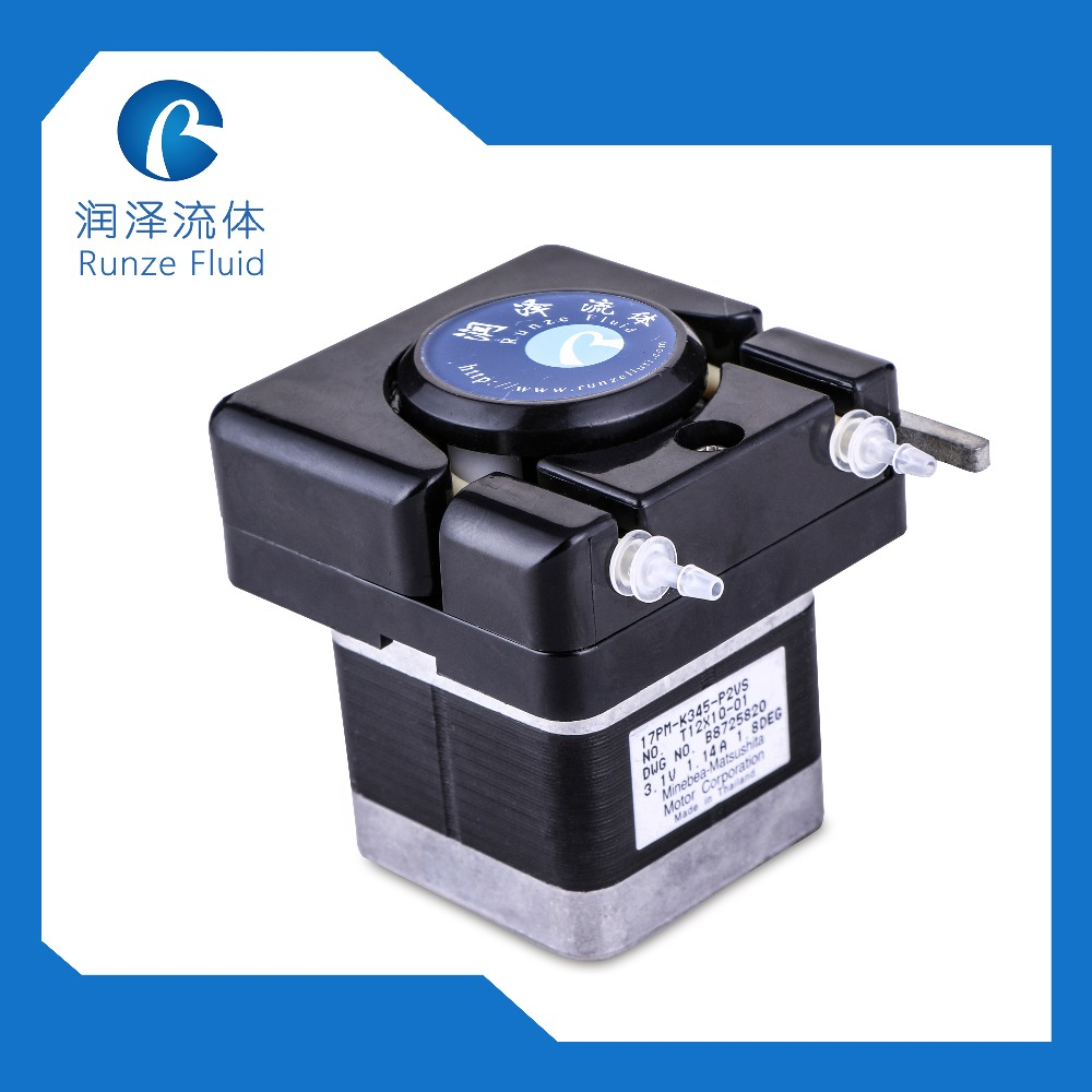 4 Roller Small Peristaltic Pump with NEMA 17 Stepper Motor peristaltic pump basictype bt100m mc12 6 roller