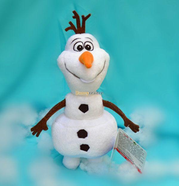 Fancytrader 2015 самых продаваемых 24 '' / 60 см Гигантский снеговик плюш Олаф мультфильм для новорожденных подарок, бесплатная доставка FT50024