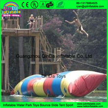 Hot sales Commercial High quality lake water blob jump, inflatable water catapult,water sports the blob