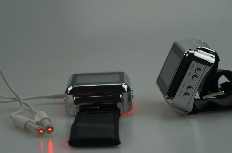 Wholesale semiconductor laser wrist watch to reduce high blood fat and high cholesterol, blood pressure high quantity medicine detection type blood and marrow test slides
