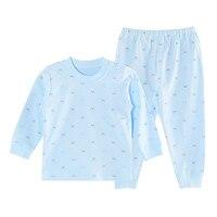 SlinBo Brand Autumn Winter Kids Warm Suits Children Thermal Underwear Sets Cotton Soft Baby Boys Pajamas