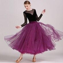 ballroom dance dresses standard ballroom dress luminous costumes dresses for ballroom dancing waltz dress purple top and skirt