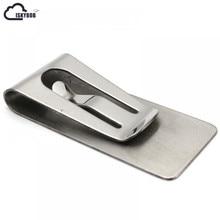 ISKYBOB Best Mini Mens Stainless Steel Silver Slim Pocket ID Card Cash font b Money b
