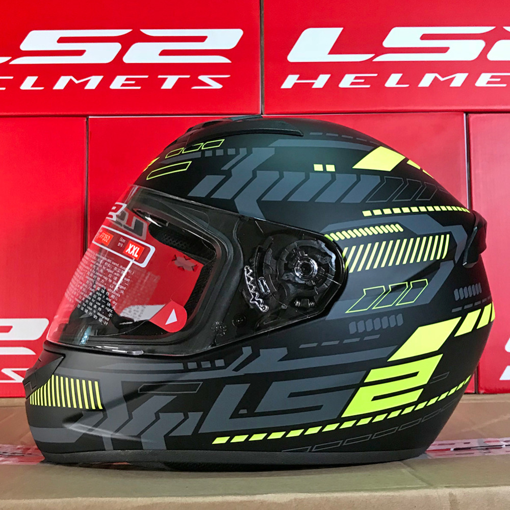 LS2 FF352 Motorcycle Helmet Full Face Racing Casque Capacete Casco Moto Helm Kask ROOKIE Helmets Caschi For Yamaha Motorrad ls2 ff353 rapid full face motorcycle helmet racing casco casque capacete moto touring helmets kask helm caschi for honda yamaha