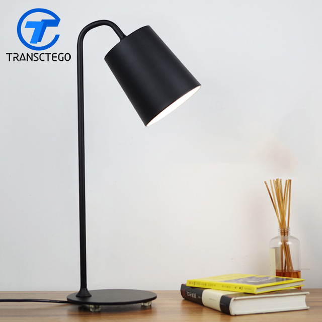 Desk Lamp European Style Led Bedside Lamps Reading Table Light Office Lighting