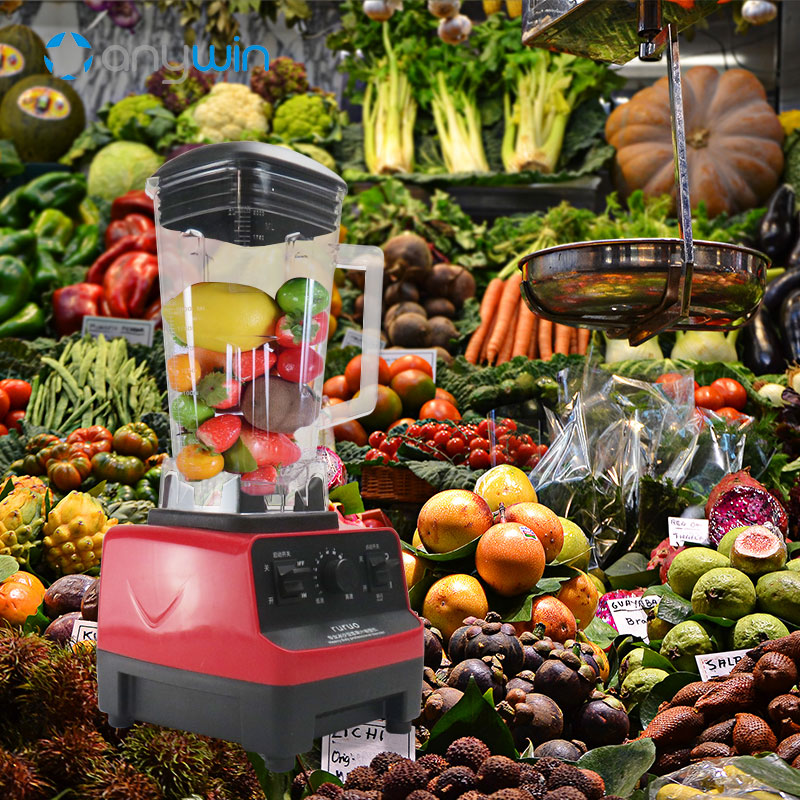 2L Electric Blender for Kitchen 220V Juicer Mixer BPA Free Blender for Smoothies 1500W Food Processor bpa 3 speed heavy duty commercial grade juicer fruit blender mixer 2200w 2l professional smoothies food mixer fruit processor