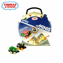 Original Thomas and Friends storage Hold 14 Train box model car Toys Educational Truck Best Boy Juguetes Gift