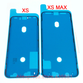 100pcs/lot Original New Waterproof 3M Adhesive Glue Tape For iPhone XS XS MAX Front Housing Frame Sticker