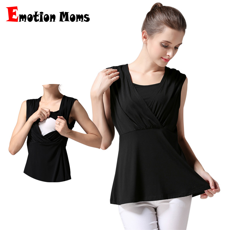 Emotion Moms Summer Maternity Clothes Camis Breastfeeding ...