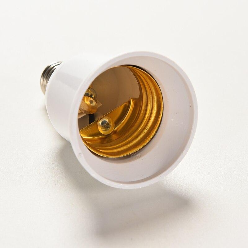 New 1PC LED Light Lamp Bulb Adapter Converter E27 To E14 Base Screw Socket Lamp Holder Converters