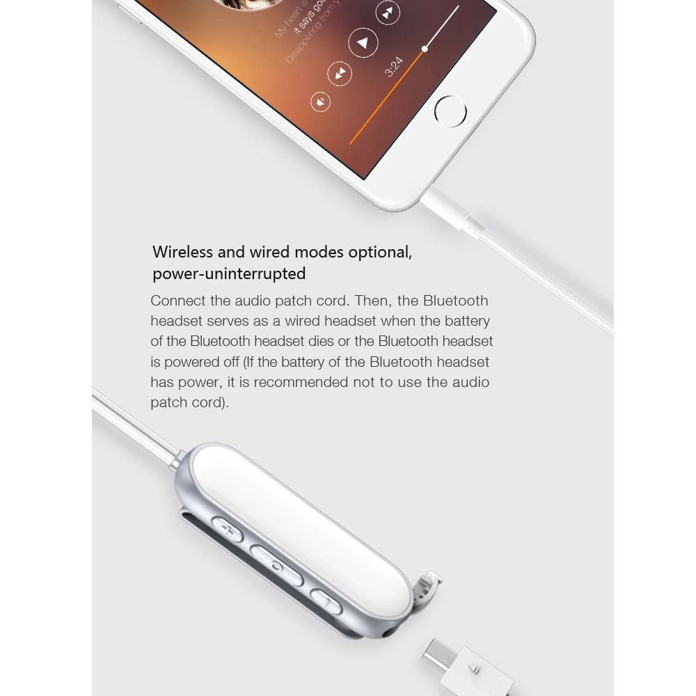 Kobwa Mini Stereo Kragen Abgeschnitten Bluetooth Kopfhörer ...