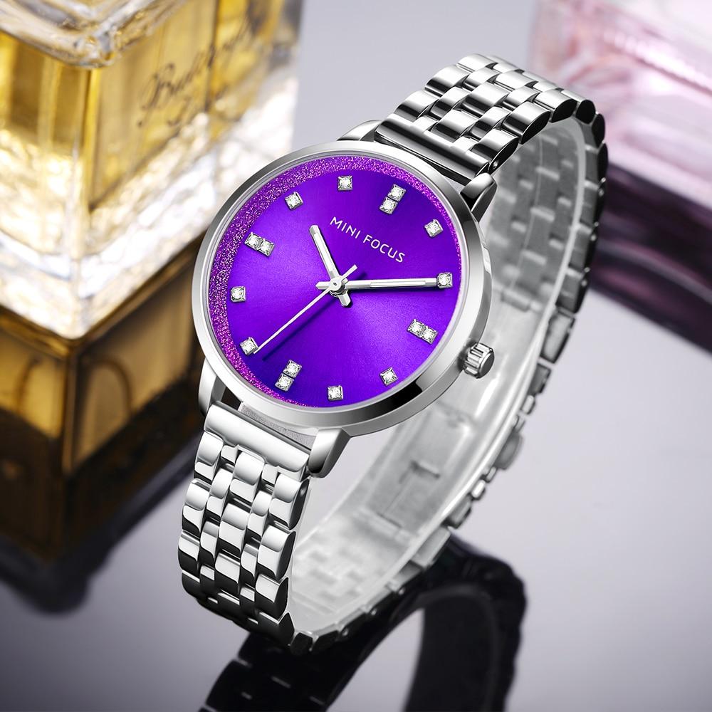 Мини фокус Модные кварцевые часы для женщин часы дамы обувь для девочек известный бренд наручные часы женские Montre Femme Relogio MF0047L. 04