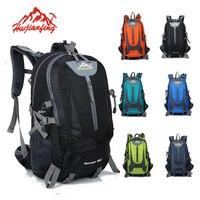 Nylon Hiking Backpack Skiing Laptop Bag 40 L Tactical Backpacks Travel Camping Rucksack Outdoor Sports Ski