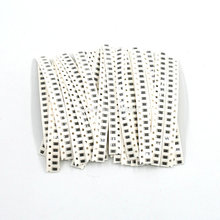 цена на 660PCS/LOT 1206 SMD Resistor Kit Assorted Kit 1ohm-1M ohm 5% 33valuesX 20pcs=660pcs Sample Kit