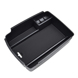 Image 4 - For Kia Sportage QL 2016 2017 2018 2019 2020 Central Console Control Armrest Storage Box Bin Organizer Tray Pallet Holder