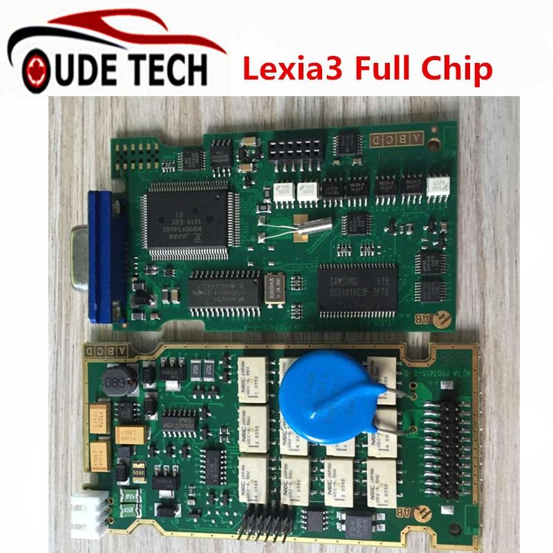 ФОТО Best Lexia 3 Full Chip Lexia3 V48/V25 Newest Diagbox V7.82 PP2000 Lexia-3 Firmware 921815C for P-eugeot/C-itroen Diagnostic Tool