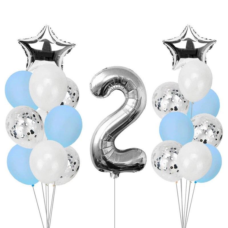 Dropwow Heronsbill 2 Years Old Balloons Kits 2nd Birthday Party