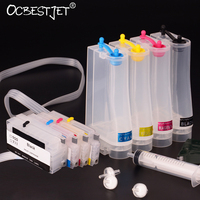 4PCS For HP 950 951 950XL 951XL Continuous Ink Supply System CISS Ink Tank For HP